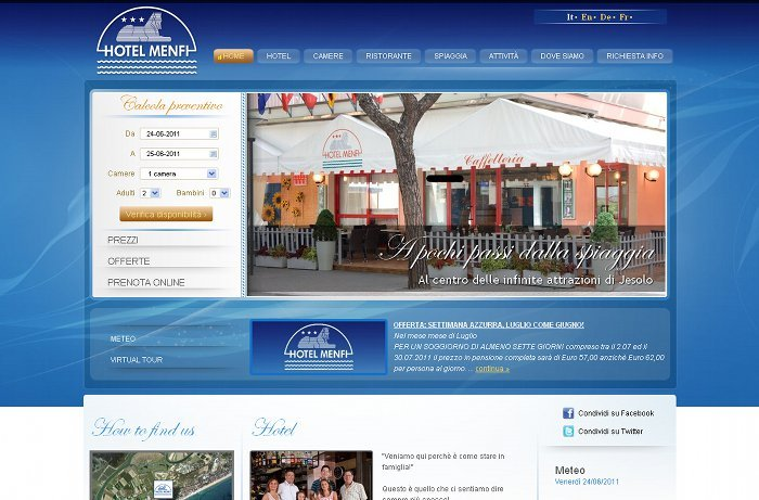 Home page Hotel Menfi